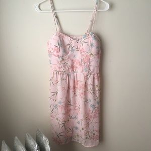 Pink Floral Sundress